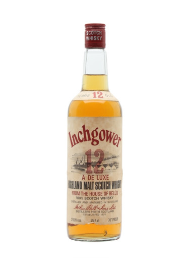 Single Malt Scotch Whisky 12 years  Inchgower – 700mL