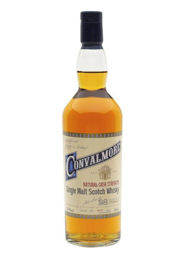 Single Malt Scotch Whisky 28 years  Convalmore – 700mL