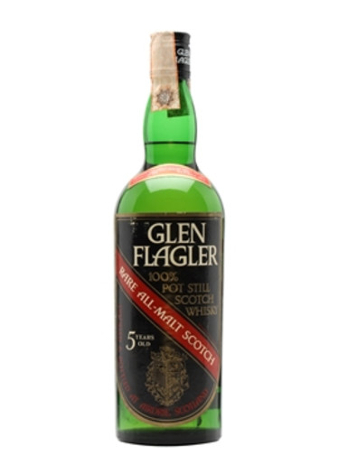 Single Malt Scotch Whisky 100% Pot Still 5 years Glen Flager – 700mL