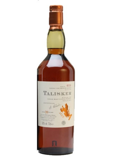 Single Malt Scotch Whisky Isle of Skye 20 Years Talisker – 700mL