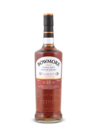 Islay Single Malt Scotch Whisky Darkest 15 years Bowmore – 700mL