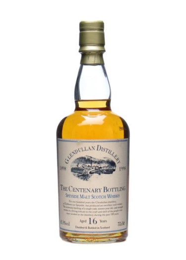 Single Malt Scotch Whisky The Centenary Bottling Glendullan 1998 – 700mL