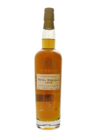 Single Malt Scotch Whisky Mission Royal Brackla 27 years Murray McDavid 1975 – 700mL
