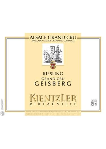 Riesling Alsace Grand Cru Geisberg Kientzler 2000 – 750mL
