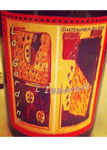 Châteauneuf-du-Pape L'Immortelle Château de la Gardine 1998 – 750mL