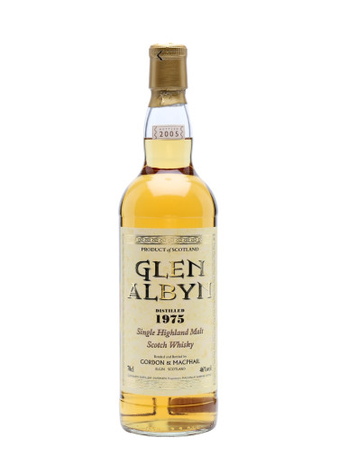 Highland Single Malt Sccotch Whisky Glen Albyn Gordon & Mac Phail 1975 – 700mL