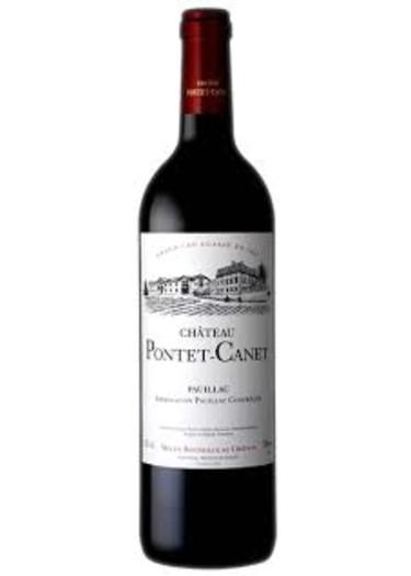 Pauillac Grand cru classé Château Pontet-Canet 2006 – 750mL