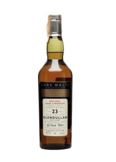 Single Malt Scotch Whisky Natural Cask Strength Rare Malts Selection 23 years  Glendullan 1974 – 700mL