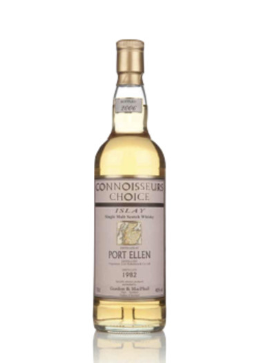 Single Malt Scotch Whisky Connoisseurs Choice Port Ellen  Gordon & Mac Phail 1982 – 700mL