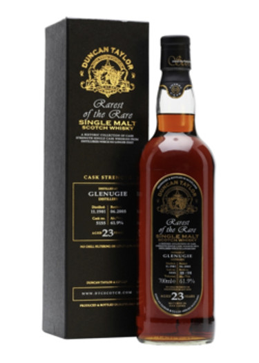 Single Malt Scotch Whisky Rarest of the Rare Duncan Taylor 23 years  Glenugie 1981 – 700mL