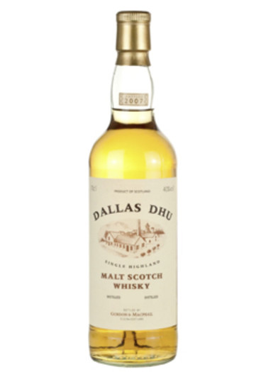 Highland Single Malt Scotch Whisky 10 years Dallas Dhu – 700mL
