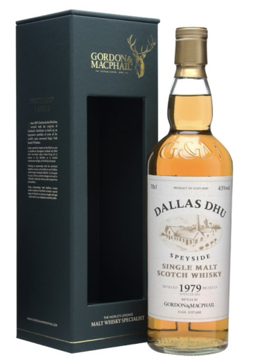 Highland Single Malt Scotch Whisky Dallas Dhu 1979 – 700mL