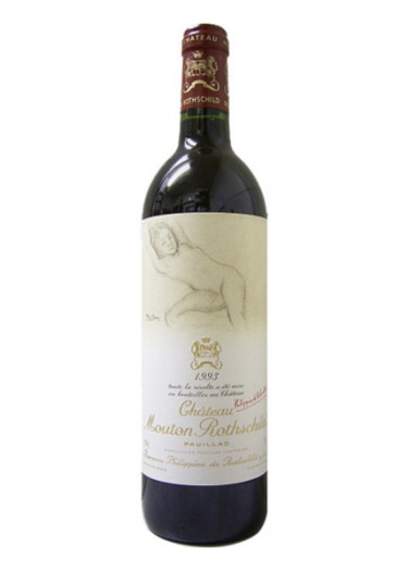 Pauillac 1er grand cru classé Château Mouton Rothschild 1993 – 750mL