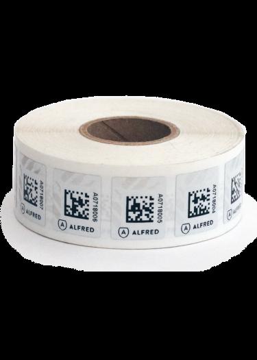 Rouleau de 1000 timbres Alfred pour réaliser l'inventaire de votre cave à vin