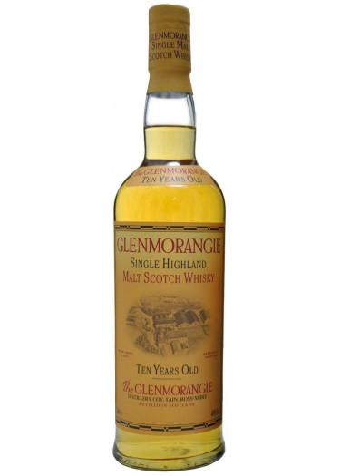 Single Highland Malt Scotch Whisky 10 Years Old Glenmorangie – 750mL