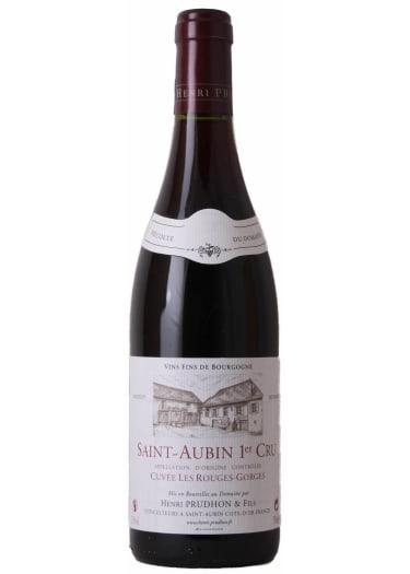 Saint-Aubin 1er cru Cuvée Les Rouges-Gorges Domaine Henri Prudhon & Fils 2013 – 750mL
