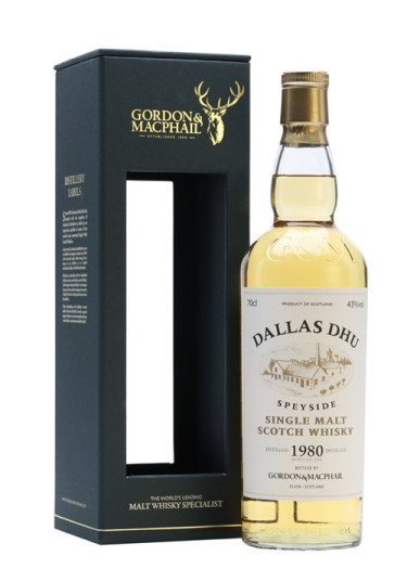 Highland Single Malt Scotch Whisky Dallas Dhu 1980 – 700mL