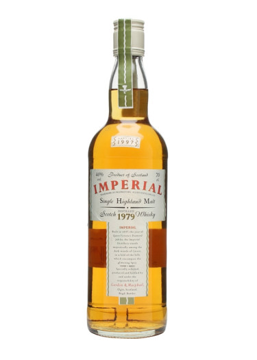 Single Malt Scotch Whisky  Imperial 1979 – 700mL