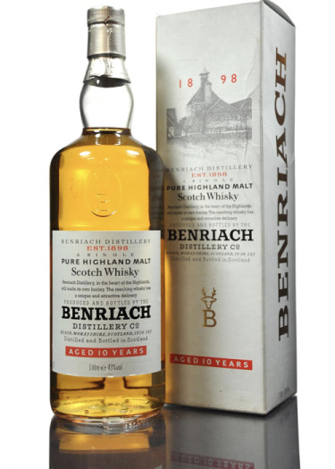 Highland Single Malt Scotch Whisky 10 years The Ben Riach Distillery – 750mL