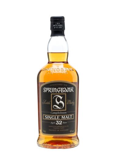 Single Malt Scotch Whisky 32 years  Springbank – 700mL
