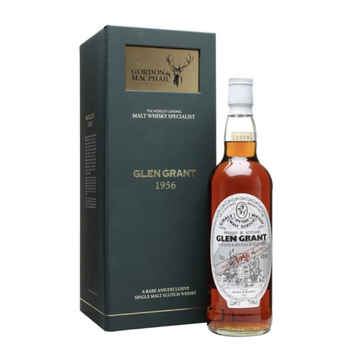 Highland Single Malt Scotch Whisky Glen Grant  Gordon & Mac Phail 1956 – 700mL