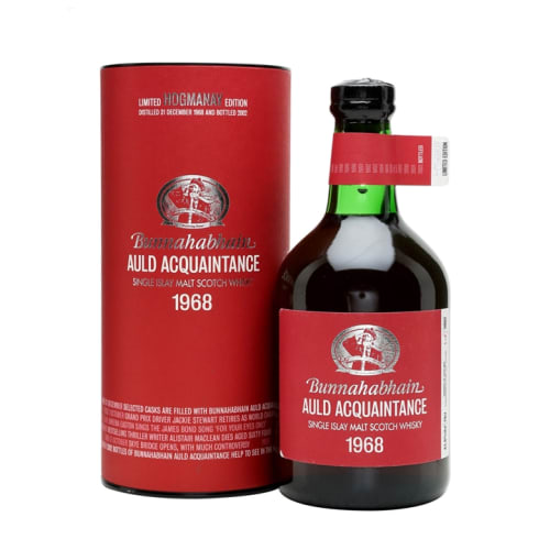 Single Malt Scotch Whisky Auld Acquaintance Bunnahabhain 1968 – 700mL