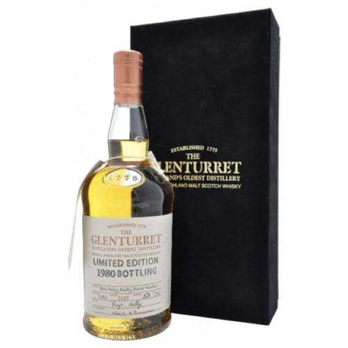 Single Malt Scotch Whisky Limited Edition  Glenturret 1972 – 700mL