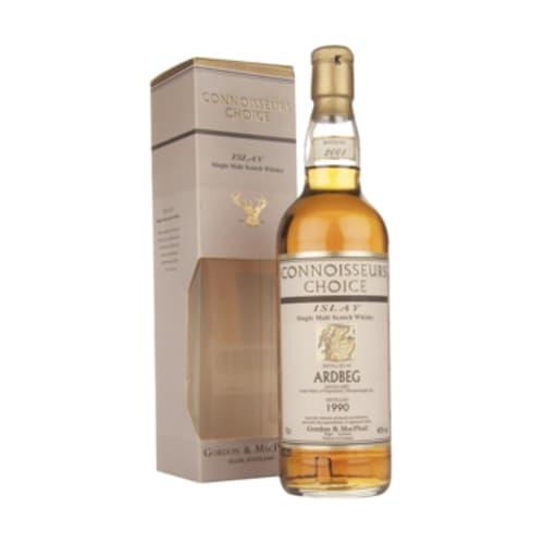 Single Malt Scotch Whisky Ardbeg Connoisseurs Choice Gordon & Mac Phail 1990 – 700mL