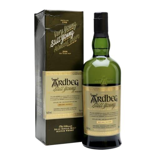 Single Malt Scotch Whisky Very Young  Ardbeg 1998 – 700mL