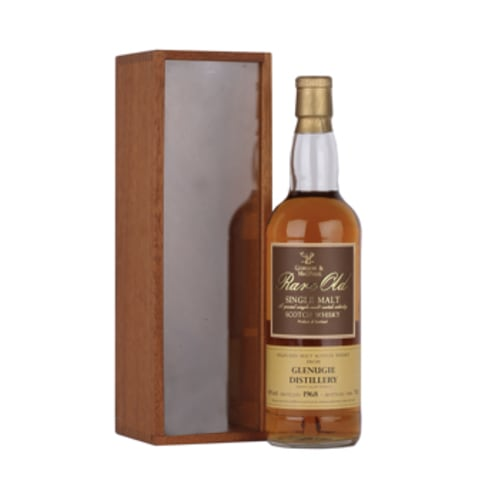 Highland Single Malt Scotch Whisky Rare Old Glenugie Gordon & Mac Phail 1968 – 700mL