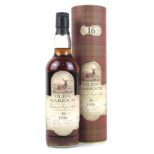 Highland Single Malt Scotch Whisky Single Cask 16 years Glen Garioch 1986 – 700mL