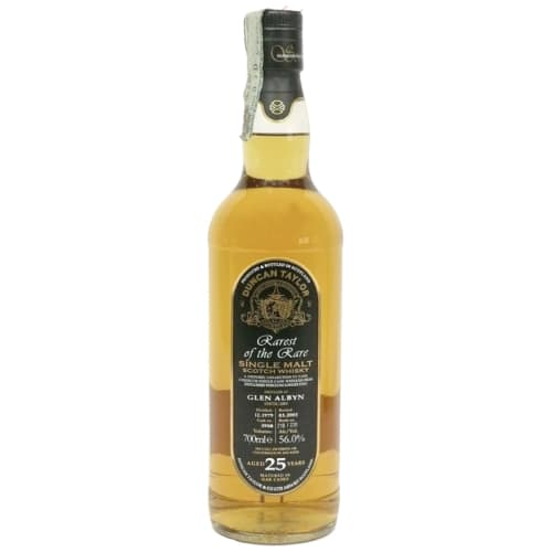 Single Malt Scotch Whisky Rarest of the Rare Duncan Taylor 25 years  Glen Albyn 1979 – 700mL