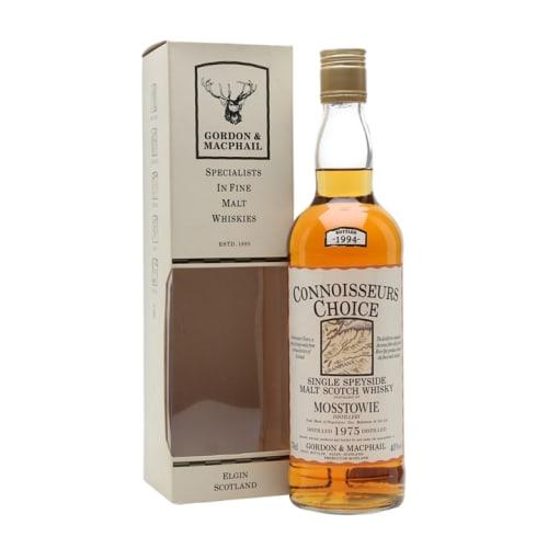 Speyside Single Malt Scotch Whisky Mosstowie Connoisseurs Choice Gordon & Mac Phail 1979 – 700mL