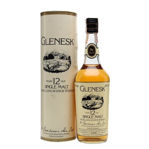 Single Malt Scotch Whisky 12 years  Glenesk – 750mL