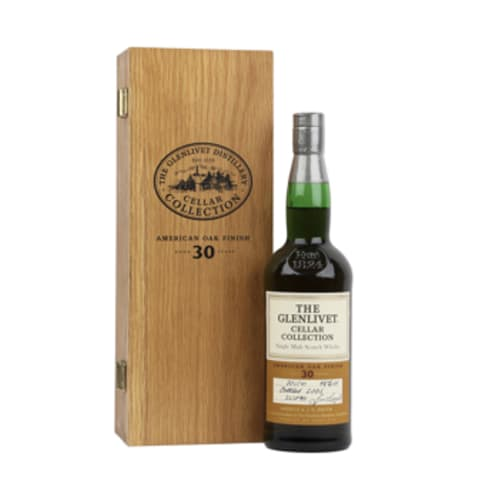 Single Malt Scotch Whisky Cellar Collection 30 years The Glenlivet 2001 – 700mL