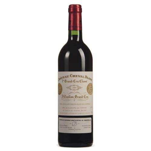Saint-Emilion Grand Cru 1er grand cru classé «A» Château Cheval Blanc 2000 – 750mL