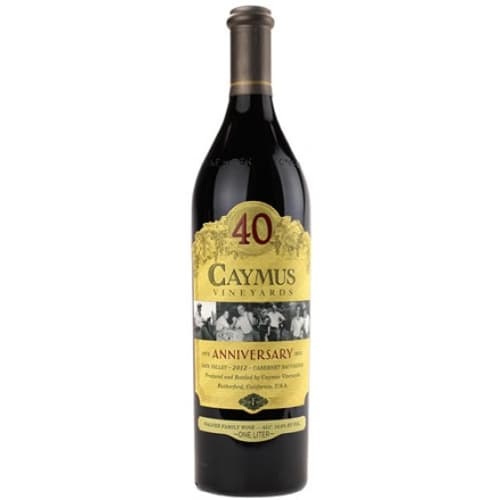 Cabernet-Sauvignon Napa Valley 40e Anniversary Caymus Vineyards 2012 – 3L