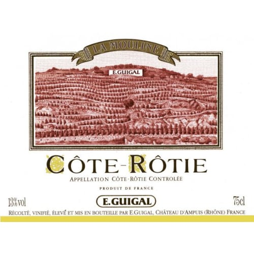 Côte-Rôtie La Mouline Côte Blonde E. Guigal 1981 – 750mL