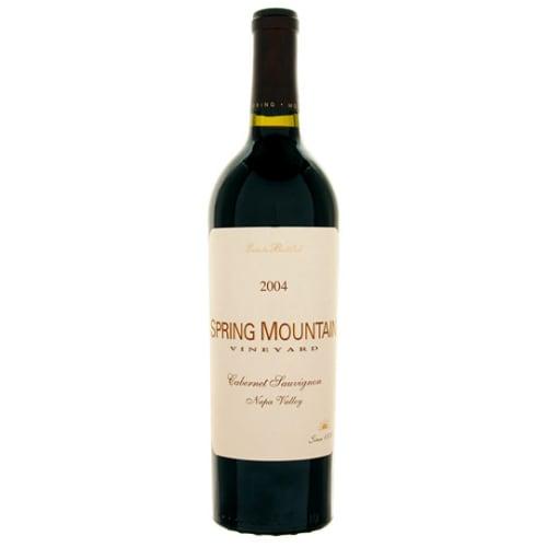 Cabernet-Sauvignon Napa Valley Spring Mountain Vineyard 1986 – 750mL