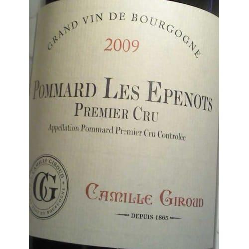 Pommard Les Epenots 1er cru Camille Giroud 1996 – 750mL