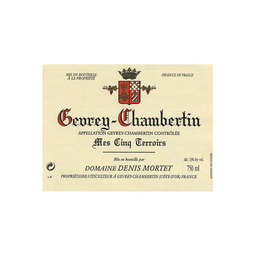 Gevrey-Chambertin Mes Cinq Terroirs Domaine Denis Mortet 2005 – 750mL