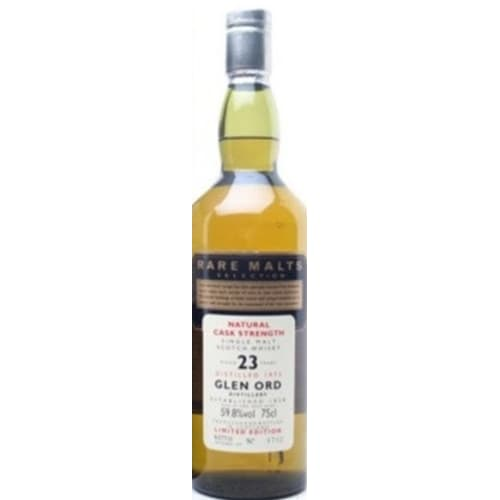Single Malt Scotch Whisky Natural Cask Strength Rare Malts Selection 23 years Glen Ord 1974 – 700mL