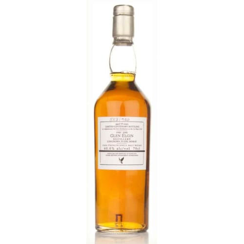 Single Malt Scotch Whisky Centenary Bottling 19 years   Glen Elgin – 700mL