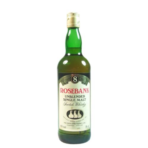 Single Malt Scotch Whisky Unblended 8 years Rosebank – 750mL