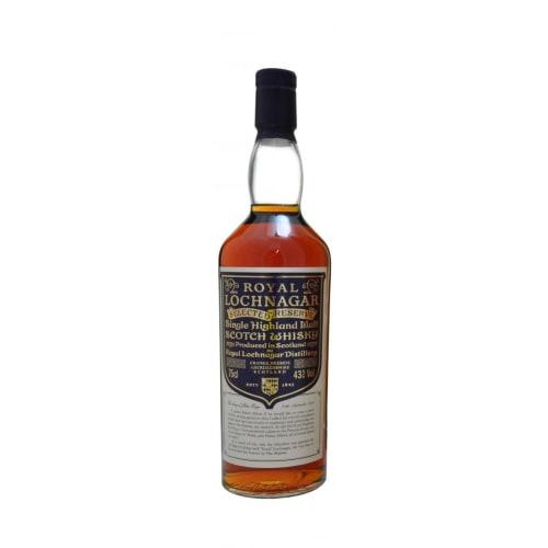 Single Malt Scotch Whisky Selected Reserve  Royal Lochnagar – 700mL