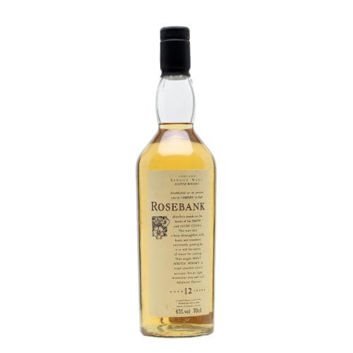Single Malt Scotch Whisky 12 years Rosebank – 700mL