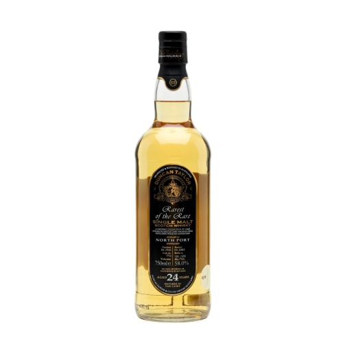 Single Malt Scotch Whisky Rarest of the Rare Duncan Taylor 24 years  North Port – 700mL