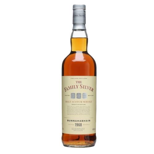 Single Malt Scotch Whisky The Family Silver  Bunnahabhain 1968 – 700mL