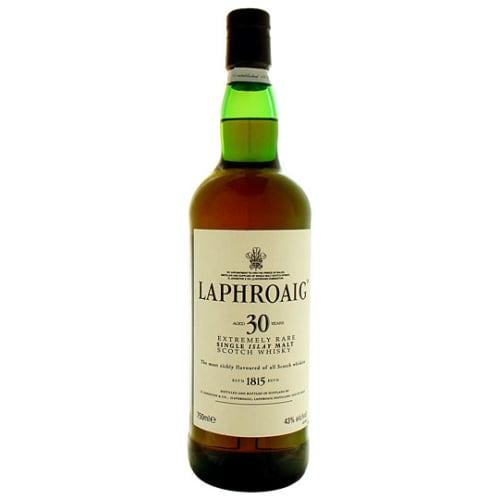 Single Malt Scotch Whisky 30 Years  Laphroaig – 750mL