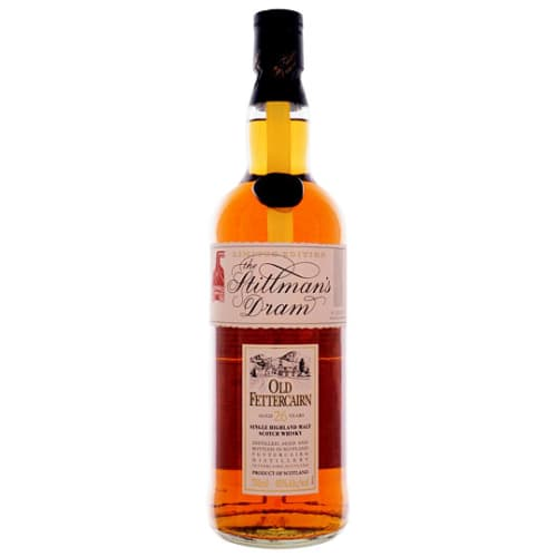 Single Malt Scotch Whisky 26 years The Stillman's Dram Old Fettercairn – 700mL